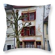 Belle Epoque House Throw Pillow