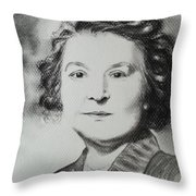 Belle Grand-mere Piche Throw Pillow