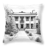 Belle Meade Plantation Throw Pillow