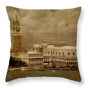 Bellissima Venezia Throw Pillow