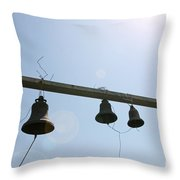 Bells In The Morning  Throw Pillow