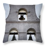 Bells Of Mission San Diego Too Throw Pillow