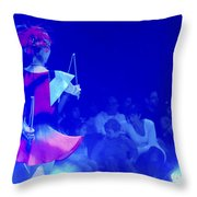 Bellucci Circus  Throw Pillow