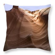 Below The Earth Throw Pillow
