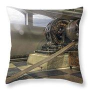 Belt-driven Power Throw Pillow