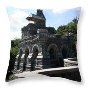 Belvedere Castle - Central Park Throw Pillow