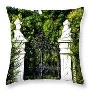 Belvedere Palace Gate Throw Pillow