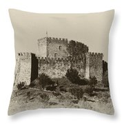 Belver Castle Throw Pillow