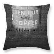 Ben Hur Coffee Throw Pillow