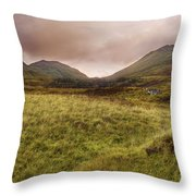 Ben Lawers - Scotland - Mountain - Landscape Throw Pillow