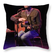 Musician Ben Taylor Throw Pillow