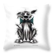 Ben The Dog Throw Pillow