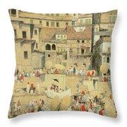 Benares Throw Pillow