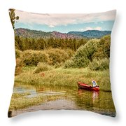 Bend/sunriver Thousand Trails Throw Pillow