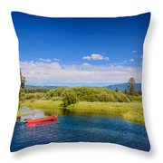 Bend Sunriver Thousand Trails Oregon Throw Pillow