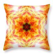 Bending Light Throw Pillow