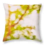 Beneath A Tree  14 5194  Diptych  Set 2 Of 2 Throw Pillow by Ulrich Schade