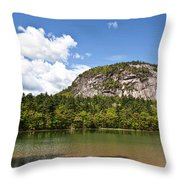 Beneath Cathedral Ledge Throw Pillow