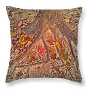 Beneath It All Throw Pillow
