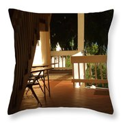 Beneath The Stairs Throw Pillow
