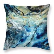 Beneath The Surface Throw Pillow