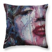 Beneath Your Beautiful Throw Pillow by Paul Lovering