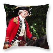 Benedict Arnold Throw Pillow