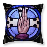 Benediction To Blessing Throw Pillow