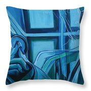 Benevolent Ancestor Throw Pillow