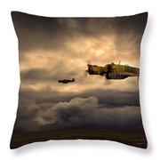 Benghazi Bus Throw Pillow