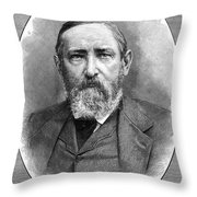 Benjamin Harrison (1833-1901) Throw Pillow