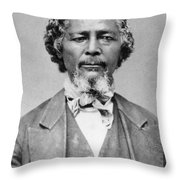 Benjamin 'pap' Singleton (1809-1892) Throw Pillow
