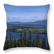 Bennet Lake Throw Pillow