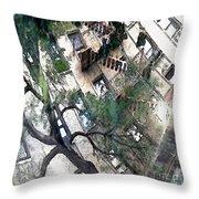 Bennett Avenue Fire Escape Throw Pillow