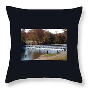 Bennett Springs Spillway Throw Pillow