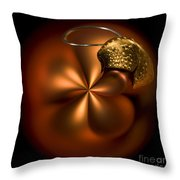 Bent Bauble Throw Pillow