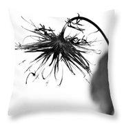 Bent To Embrace  Throw Pillow