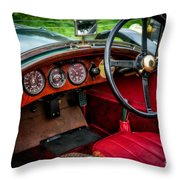 Bentley 3 Litre Throw Pillow