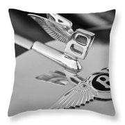 Bentley Hood Ornament 5 Throw Pillow