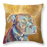 Beowulf Throw Pillow by Ashley Kujan