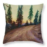 Bergebo Forest Throw Pillow
