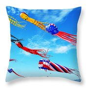 Berkeley Kite Festival 1 Throw Pillow