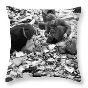 Berlin, 1945 Throw Pillow