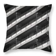 Berlin Balconies Throw Pillow