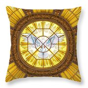 Berlin Cathedral Ceiling Throw Pillow