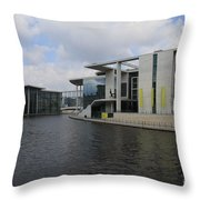 Berlin Government Building  Throw Pillow