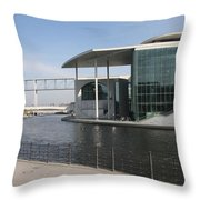 Berlin Government Building - Germany Throw Pillow