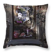 Berlin Graffiti - 2  Throw Pillow