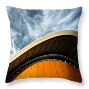Berlin - Haus Der Kulturen Der Welt Throw Pillow