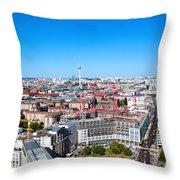 Berlin Panorama Throw Pillow